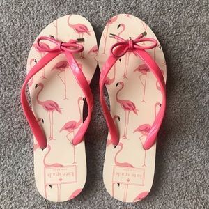 Kate Spade Flamingo Flip Flop, Size 9-10